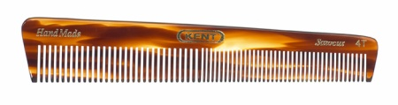 Medium Sized Handmade Grooming Comb Fine/Coarse - 4T in the group Hair Care / Combs / Handmade Combs at Sliqhaq AB (4T)