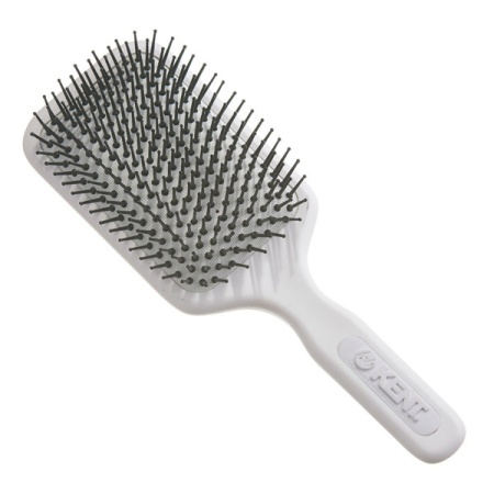 AirHedz Pro XL Phine Pin Paddle Brush White in the group Hair Care / Comb & Brushes / Cushion Brush at Sliqhaq AB (AH7W)