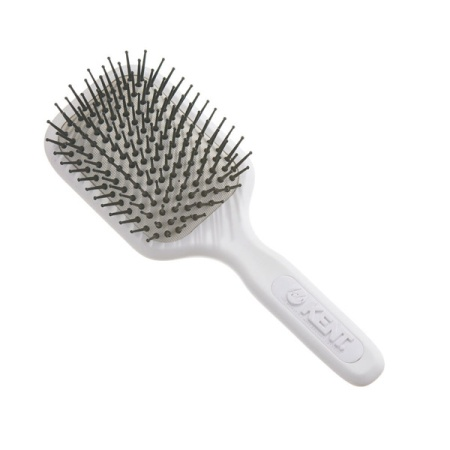 Airhedz Pro Medium Phine Pin Cushion Brush White in the group Hair Care / Comb & Brushes / Cushion Brush at Sliqhaq AB (AH9W)