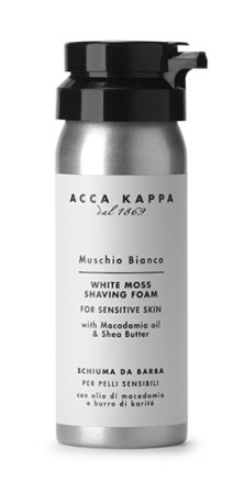 White Moss Shaving Foam Travel Size in the group Shaving / Cream, soap & lather / Shaving Foam at Sliqhaq AB (AK-853326)