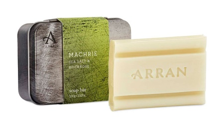 Machrie Tinned Soap Travel Size in the group Lifestyle / Travel Accessories at Sliqhaq AB (ASC-MAC001)