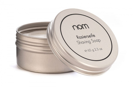 Aloe Vera Shaving Soap with Tin in the group Shaving / Cream, soap & lather / Shaving Soap at Sliqhaq AB (NOM-RS2)