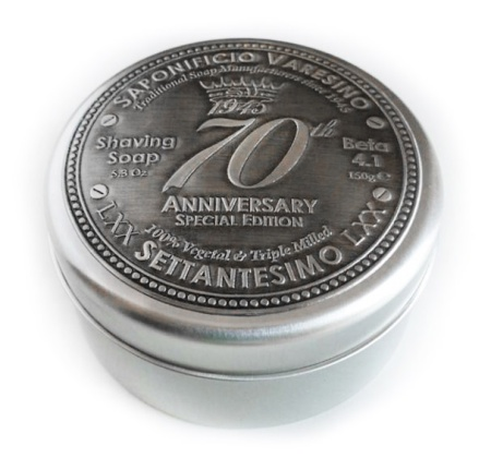 70th Anniversary Shaving Soap in the group Shaving / Cream, soap & lather / Shaving Soap at Sliqhaq AB (R0007)