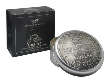 Cubebe Shaving Soap Beta 4.3 - Special Edition in the group Shaving / Cream, soap & lather / Shaving Soap at Sliqhaq AB (R0116)