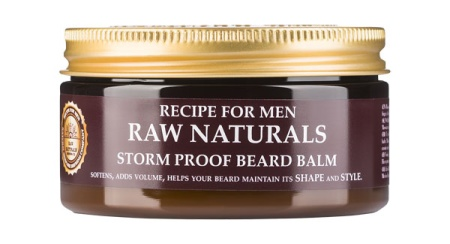 Storm Proof Beard Balm in the group Beard & Moustache / Beard Care / Beard Wax & styling at Sliqhaq AB (RAW830)