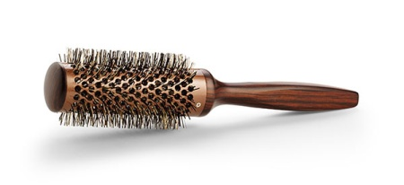 Vintage Maple Round Brush - 35 mm in the group Hair Care / Comb & Brushes / Volume Hair Brush at Sliqhaq AB (VMB-7786)